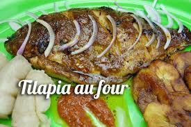 cuisine au four recette de tilapia au four