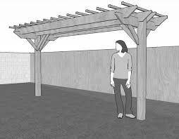 Free Pergola Plans And Designs by Best 20 Free Standing Pergola Ideas On Pinterest Free Standing