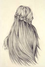 sketches of hair pictures sketches of girls hair drawing art gallery