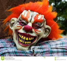 halloween clown mask royalty free stock photography image 16526797