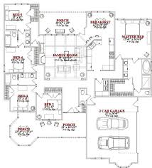 One Story House Plans With 4 Bedrooms Best 25 5 Bedroom House Plans Ideas Only On Pinterest 4 Bedroom