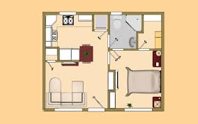Cottage Floor Plans Small Small House Plan Under 500 Sq Ft Good For The