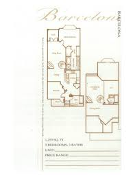laurel bay barcelona floorplan