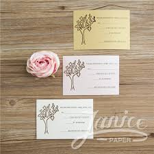 Wedding Reception Card Laser Cut Rsvp Reception Wholesale Wedding Invitations Wedding