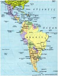 Map Of Central Mexico by Download Map Of South America And Mexico Major Tourist