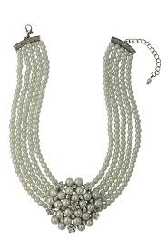 pearl necklace tiffany images Audrey hepburn cream pearl necklace amazon co uk jewellery jpg