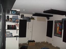 building home theater building out my home theater sound panels u0026 dvd shelving