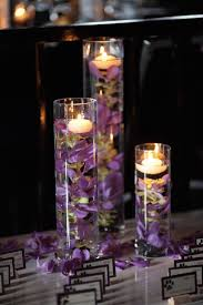 Wedding Reception Table Centerpiece Ideas by Best 25 Purple Wedding Centerpieces Ideas On Pinterest Purple
