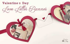 valentines banner s day letter banner bugaboocity