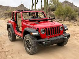 red jeep liberty 2018 jeep wrangler jl first look review top speed