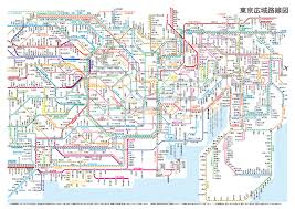 A Train Map How To Buy A Train Ticket In Japan U2013 Nightspot In Japan