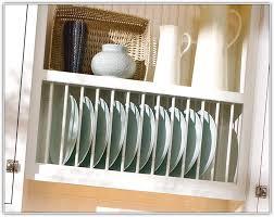 kitchen cabinet plate storage kitchen cabinet plate rack insert cosmecol