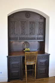 alder wood ginger glass panel door kitchen cabinets in spanish