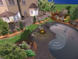 Home Landscaping Design Software Free by Backyard Landscaping Design Software Free 1000 Ideas About
