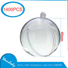 high quality clear christmas ball ornament crafts buy cheap clear