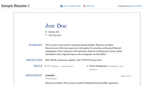 Example Of Profile In Resume by Appealing Resume From Linkedin 19 For Your Example Of Resume With
