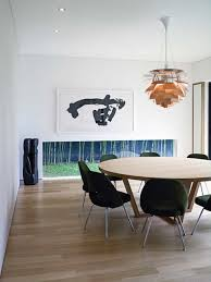 asian dining room ideas modern japanese style with round table and
