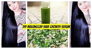 diy malunggay hair growth serum grow hair faster lessen hair