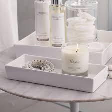Bathroom Apothecary Jar Ideas Ceramic Rectangular Container White The White Company