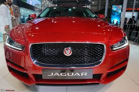 jaguar grill jaguar xe launched auto expo 2016 team bhp