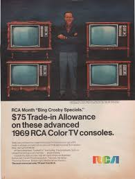 rca home theater tv bing crosby for rca tv 1969 vintage ads advertisements