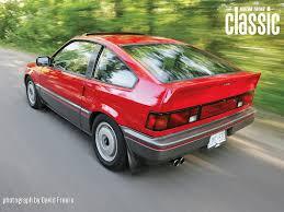 slammed honda crx 1985 honda crx si wallpaper gallery motor trend classic