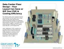floor layout design data center floor design your layout can save of kill your pue co