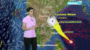 India Weather Map by India Nilam Cyclone Update Skymet Weather Report Youtube
