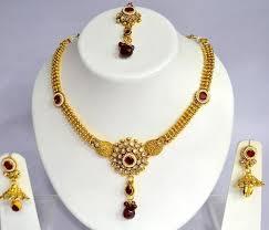 copper necklace set images Copper necklace set fancy necklace set manufacturer from mumbai jpg
