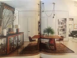 lights by apparatus studio built in cabinets ralph lauren dining