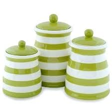 colorful kitchen canisters colorful kitchen canisters sets green white stripe ceramic kitchen
