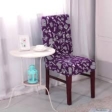 Purple Chair Covers Agzszl Universal Stretch Purple Chair Covers For Wedding 100