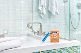 bathroom tile cleaner baking soda how to unclog your drain with