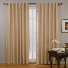 Eclipse Blackout Curtains Eclipse Blackout Fresno Blackout Wheat Polyester Curtain Panel 84