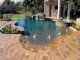 patio with pavers ideas pool deck paver stone patio exposed