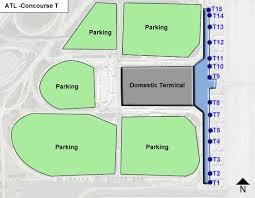 atlanta airport floor plan hartsfield jackson atlanta airport atl concourset jpg