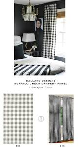 ballard designs buffalo check drapery panel copycatchic ballard designs buffalo check drapery panel