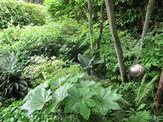 Washington State Botanical Gardens Shady Side Garden With Attractive Gate And Path Gardening