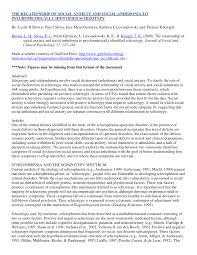cgi si e social the relationship of social anxiety and pdf available