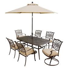 Target Com Outdoor Furniture by Hanover Outdoor Furniture Traditions 7 Pc Outdoor Dining Set Of