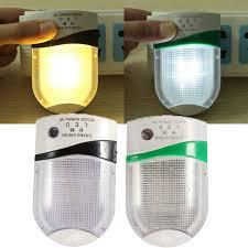 automatic led night light automatic led night light plug in safety save energy sensor l