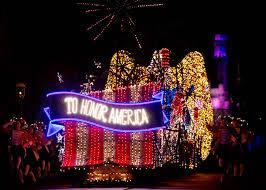 American Flag Christmas Lights Disneyland Resort Prepares To Celebrate America This 4th Of July