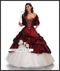 boutique mariage bordeaux robe de mariee couleur bordeaux et blanc votre heureux