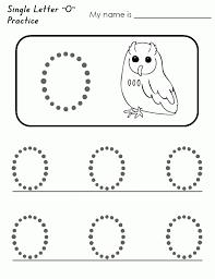 free printable letter o worksheets for kindergarten u0026 preschool