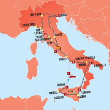 Map Of Florence Italy Ultimate Tour Of Italy U2013 Italy Coach Tours U2013 Expat Explore Travel