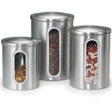 ebay kitchen canisters stainless steel kitchen canister sets ebay