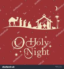 christmas jeep silhouette christmas nativity scene silhouette vector stock vector 541060852