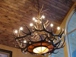 Antler Chandelier Canada Furniture Idea Appealing Elk Chandelier With Tweed S Rawhide Mica