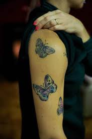 butterfly on arm photo design idea for and