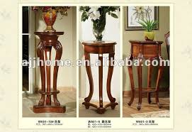 Vase Stands Popular Antique Wooden Indoor Decorative Flower Vase Stand Dk69 Dk69